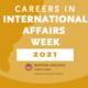 Careers in International Affairs Week: Student Internship Panel