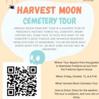 Harvest Moon Cemetery Tour -- Fredonia Honors Program