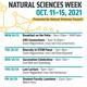 Last Lecture - Natural Sciences Week