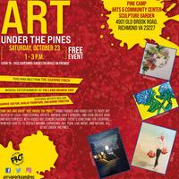 Art Under The Pines