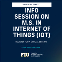 Master of Science in Internet of Things Information Session