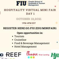 Hospitality Virtual Mini Fair Day 1