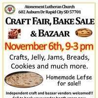 Craft Fair, Bake Sale & Bazaar