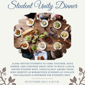Student Unity Dinner