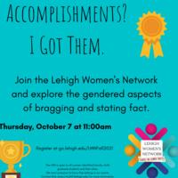 teal background accomplishments? I got them register at go.lehigh.edu/LWNFall2021