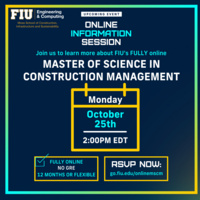 Online M.S. in Construction Management Information Session