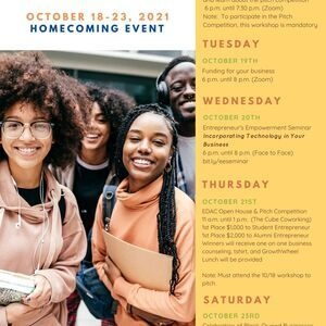 EDAC Homecoming Events