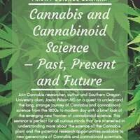 Friday Science Seminars - Cannabis and Cannabinoid Science
