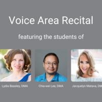 Voice Area Recital
