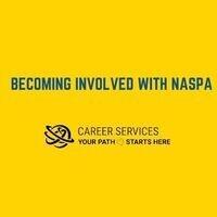 Becoming Involved in NASPA