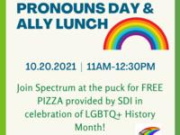 International Pronouns Day & Ally Lunch
