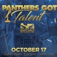 Panthers Got Talent - October 17
