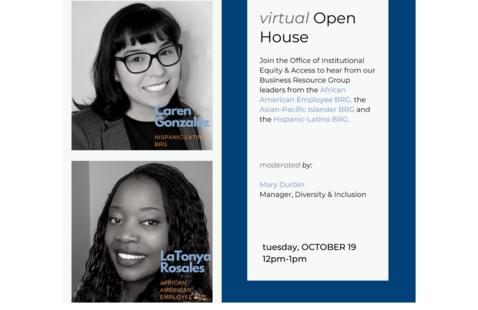 diversity virtual open house 2021