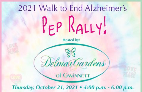 Kickoff Pep Rally Walk To End Alzheimer's