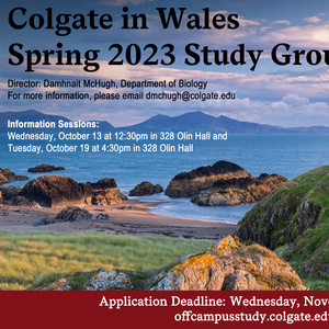 Spring 2023 Wales Study Group Information Session