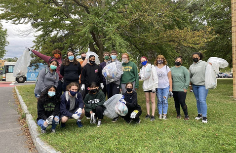 Shining Waters cleanup!