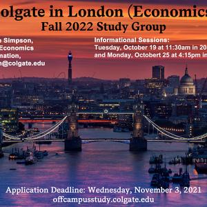Fall 2022 London Economics Study Group Information Session
