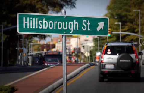 Hillsborough Street Cleanup