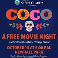 """'Coco"""" Movie Night at Newhall Park"""