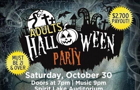 Adult Halloween Party @ Spirit Lake Casino