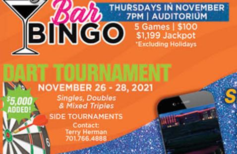 Bar Bingo @ Spirit Lake Casino