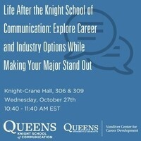 Life After the Knight School of Communication:  Explore Career and Industry Options While Making Your Major Stand Out
