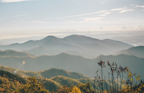 Mountainscape view