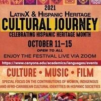 2021 LatinX & Hispanic Heritage Cultural Journey