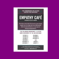Empath Cafe flyer for meeting August 4, 11, 18.