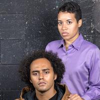 Sasha Wakefield plays Nya and Trevor Lawson plays her son, Omari