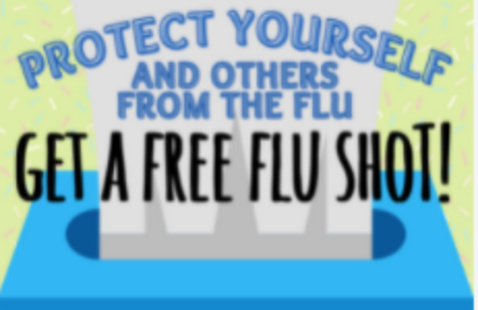 Protect Yourself and others from the flu. Get a free flu shot!