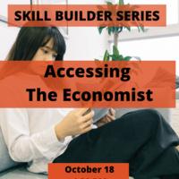 Skill Builder: Accessing the Economist