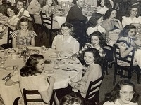 historical image of Hardy Hall Dining at Gulf Park College for Women