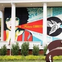 Queens Mural by Shepard Fairey
