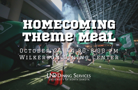 Homecoming Celebration Dining Theme Meal