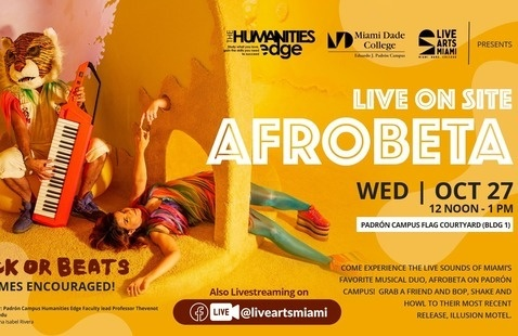 Live On Site! Trick or Beats with Afrobeta