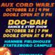UPB | Aux Cord Wars and Doo-Dah Ticket Sales