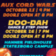 UPB   Aux Cord Wars and Doo-Dah Ticket Sales
