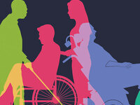 disability awareness, icons of disabled individuals