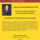 """HEB Seminar Series: """"Be Willing To Take The Road Less Traveled"""" with Dr. Lindsey Sullivan"""