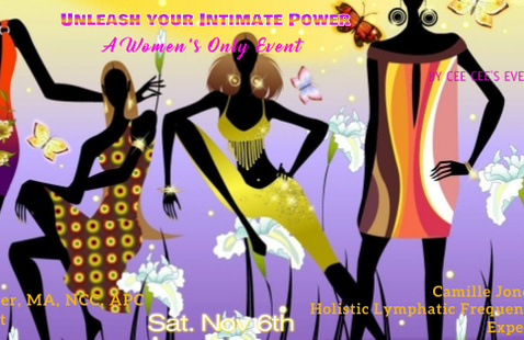 Unleash Your Intimate Power flyer