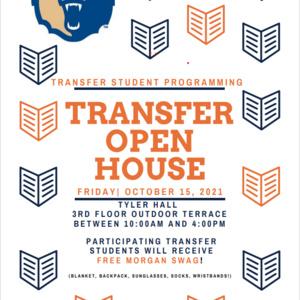 Transfer Student Programming Open House 10-15-2021