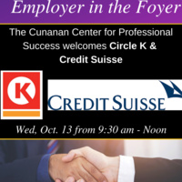 Employer in the Foyer: Circle K & Credit Suisse