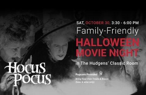 Family-Friendly Halloween Movie Night