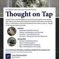 Thought on Tap: Rethinking our Tech Overlords