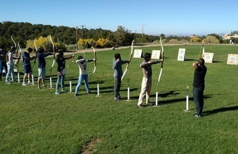 Archery Range Practice