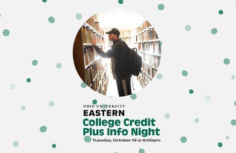 College Credit Plus Info Night