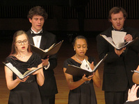 Chamber Singers Fall 2019 recital