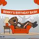 Benny's Birthday Bash photo booth: