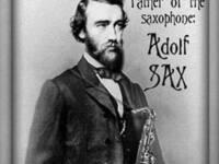 Adolf Sax, inventor of the saxophone